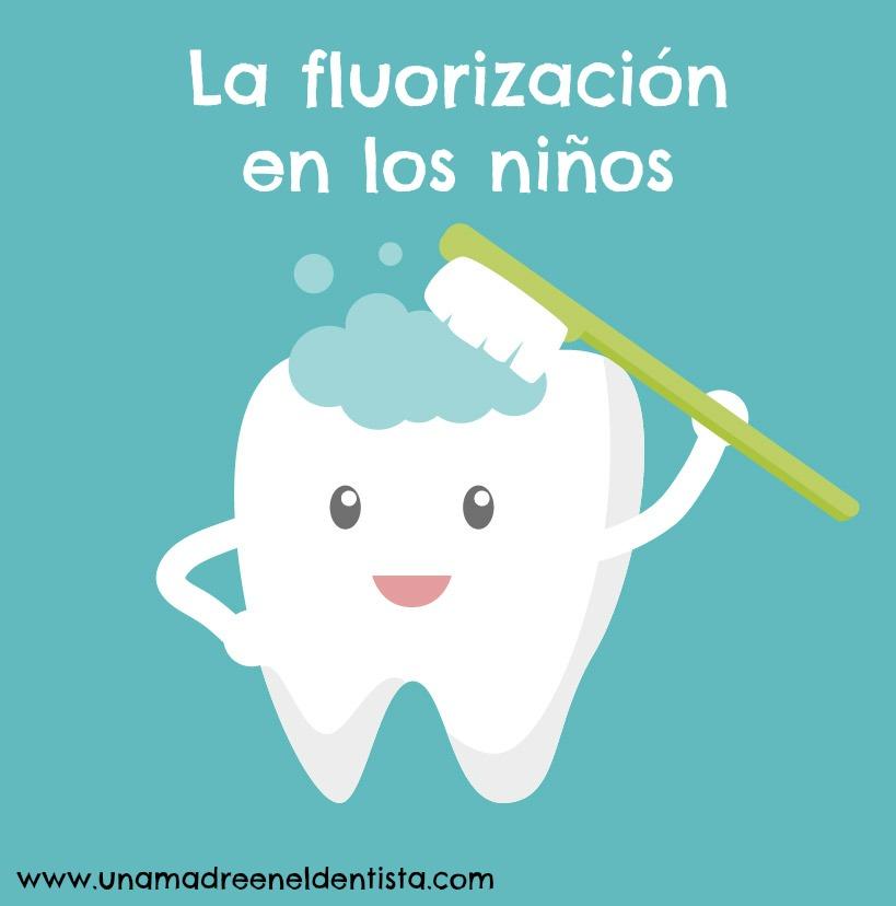 La fluorización en los niños: flúor en los dientes