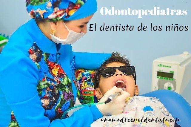 La odontopediatría: el dentista de los niños