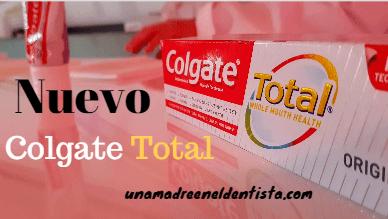 Nuevo Colgate Total: sin triclosán