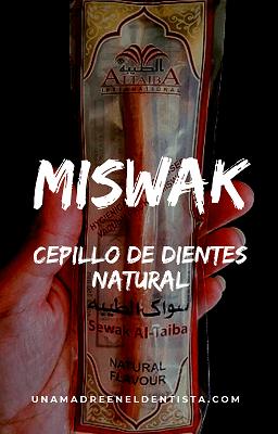 Miswak, un cepillo de dientes natural