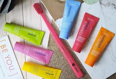 pastas de dientes de distintos sabores