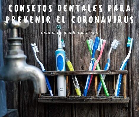consejos dentales para prevenir el coronavirus